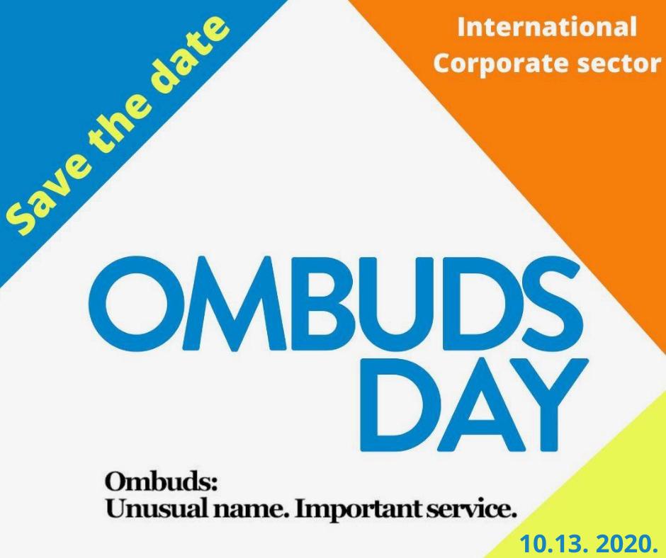 Szervezeti Ombuds Világnap 2020